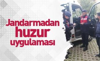 Jandarmadan huzur uygulaması: 46 gözaltı