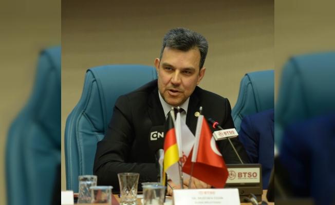 Milletvekili Esgin'den Alman yatırımcılara Tümbüldek çağrısı