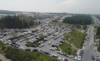 (Özel) Binlerce öğrenci Milli Savunma Üniversitesine girebilmek için ter döktü