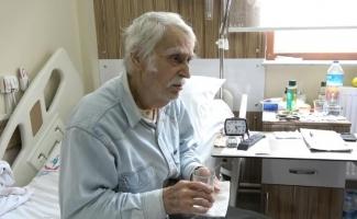 (ÖZEL) Oğlunun acısını unutamayan Eşref Kolçak, 3 aydır hastanede tedavi görüyor