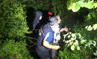 Ağaç kesmek için ormana giden ve haber alınamayan şahsın arama çalışmalarına yağmur engeli