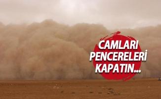 Bursa'ya toz geliyor