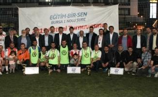 Eğitim-Bir-Sen 2019 futbol turnuvası göz doldurdu