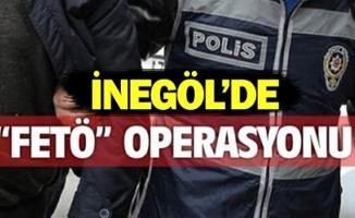 İnegöl'de FETÖ operasyonu;3 gözaltı