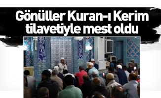 İnegöl'de gönüller Kuran-ı Kerim tilavetiyle mest oldu