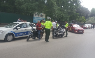 İnegöl'de Motosikletlere Sıkı Denetim