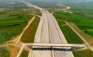 Kuzey Marmara Otoyolunda çalışmaların yüzde 71'i tamamlandı