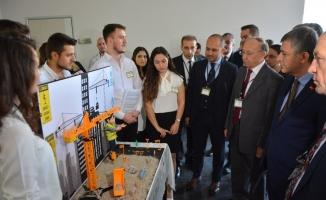 Öğrencilerin iş sağlığı ve güvenliği projeleri takdir topladı