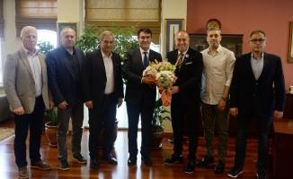 Profesyonel Futbolcular Derneği'nden Dündar'a ziyaret