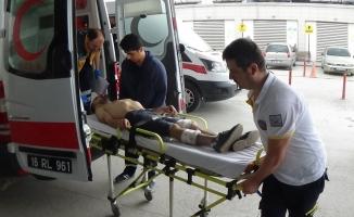 Sokak ortasında silahlı kavga: 1 yaralı