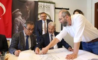 Turgay Erdem açılışa hazırlanan projeleri inceledi