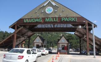 Uludağ'a rekor ziyaretçi sayısı