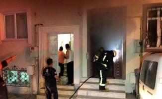 3 katlı apartmanda doğal gaz patlaması