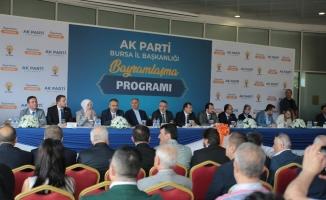AK Parti Bursa Teşkilatı bayramda bir araya geldi