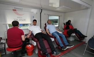 Büyükşehir'den kan bağışı