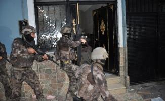 Dev uyuşturucu operasyonunda 49 gözaltı
