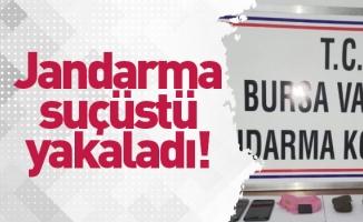 Jandarma ekiplerinden tarihi eser kaçakçılarına suçüstü