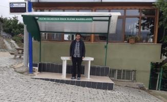 Köy odasını imam inşa etti