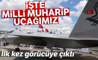 Milli Muharip Uçak ilk kez sergileniyor