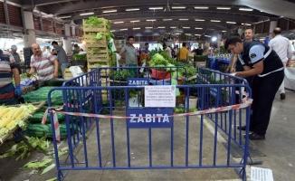 (Özel)  Bursa'da huzur bozan pazar esnafına örnek ceza