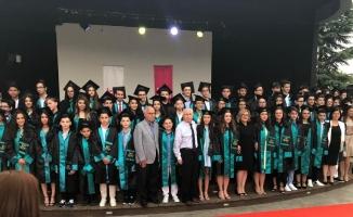 Tan Özlüce'de mezuniyet coşkusu