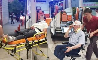 Ters yön kazası; 2 yaralı