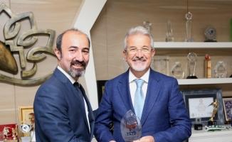 TSYD Bursa Şubesi'nden Turgay Erdem'e 'hayırlı olsun' ziyareti