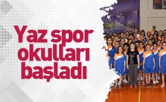 Yaz Spor Okulları 790 Öğrenciyle Start Aldı