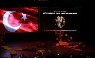 33. Altın Karagöz Halk Dansları yarışması tüm hızıyla sürüyor