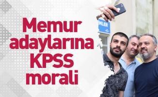 Başkan Aktaş'tan memur adaylarına KPSS morali