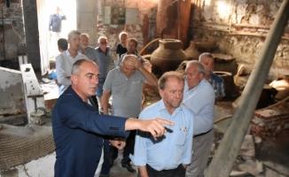 """Başkan Sertaslan: """"Zeytinyağı kültürünü gelecek nesillere aktaracağız"""""""