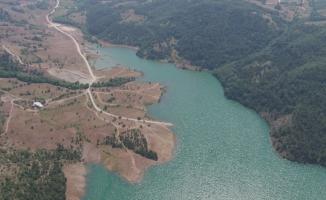 Bursa'nın barajlarına drone ile kontrol