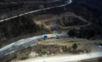 Hocaköy baraj inşaatı durdu