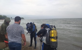 İznik gölünde heyecan veren ihbar, ekipleri harekete geçirdi