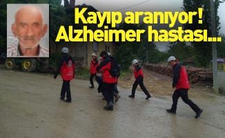 Kayıp alzheimer hastası aranıyor