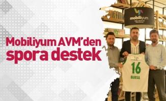 Mobiliyum AVM'den spora destek