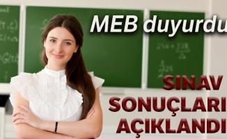 Öğretmen adaylarının sözlü sınav sonuçları açıklandı