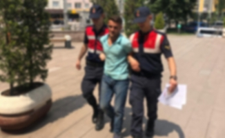 Okul inşaatından demir çalan hırsız tutuklandı