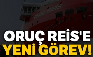 Oruç Reis sismik araştırma gemisi Akdeniz'e gidiyor