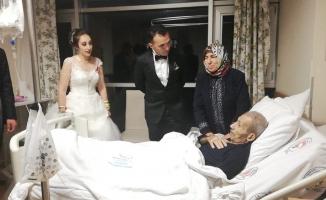 Düğün Sonrası Soluğu Hastanede Aldılar