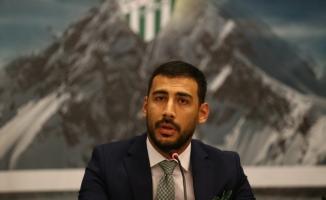 """Selçuk Erdoğan: """"Bursaspor'un büyüklüğü hiçbir yerde değişmez"""""""