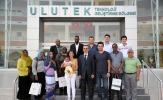 Sudanlı teknopark personeline ULUTEK'te Ar-Ge eğitimi