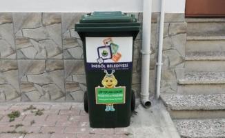 Bireysel Çöp Konteynırları Pilot Bölgede Uygulanmaya Başladı
