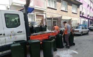 İnegöl'de her eve çöp konteynırı