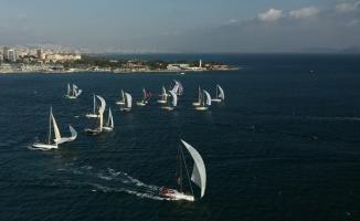 Tayk-Eker Olympos Regatta yelken yarışı 29 teknenin katılımıyla başladı