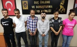 Uyuşturucu yuvasına baskın: 7 gözaltı