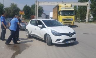Yayaya çarpan kadın sürücü göz yaşlarına boğuldu