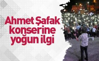 Ahmet Şafak konserine yoğun ilgi