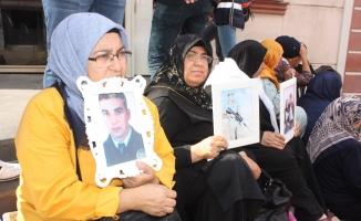 Annelerin HDP önündeki eylemi 13'üncü gününde
