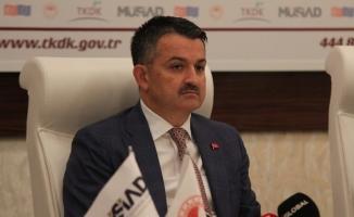 """Bakan Pakdemirli: """"4 milyar lira hibe ile 7 bini kadın ve gençlere ait 14 binden fazla tesisi destekledik"""""""